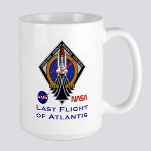 Last Flight of Atlantis Large Mug